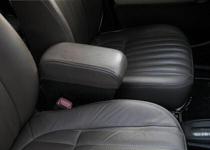 Bracciolo regolabile con portaoggetti per Daihatsu Trevis