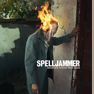 SPELLJAMMER  - INCHES FROM THE SUN - LP CLEAR VINYL LTD EDITION (Riding Easy Records)