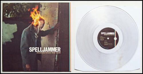 SPELLJAMMER  - INCHES FROM THE SUN - LP CLEAR VINYL LTD EDITION