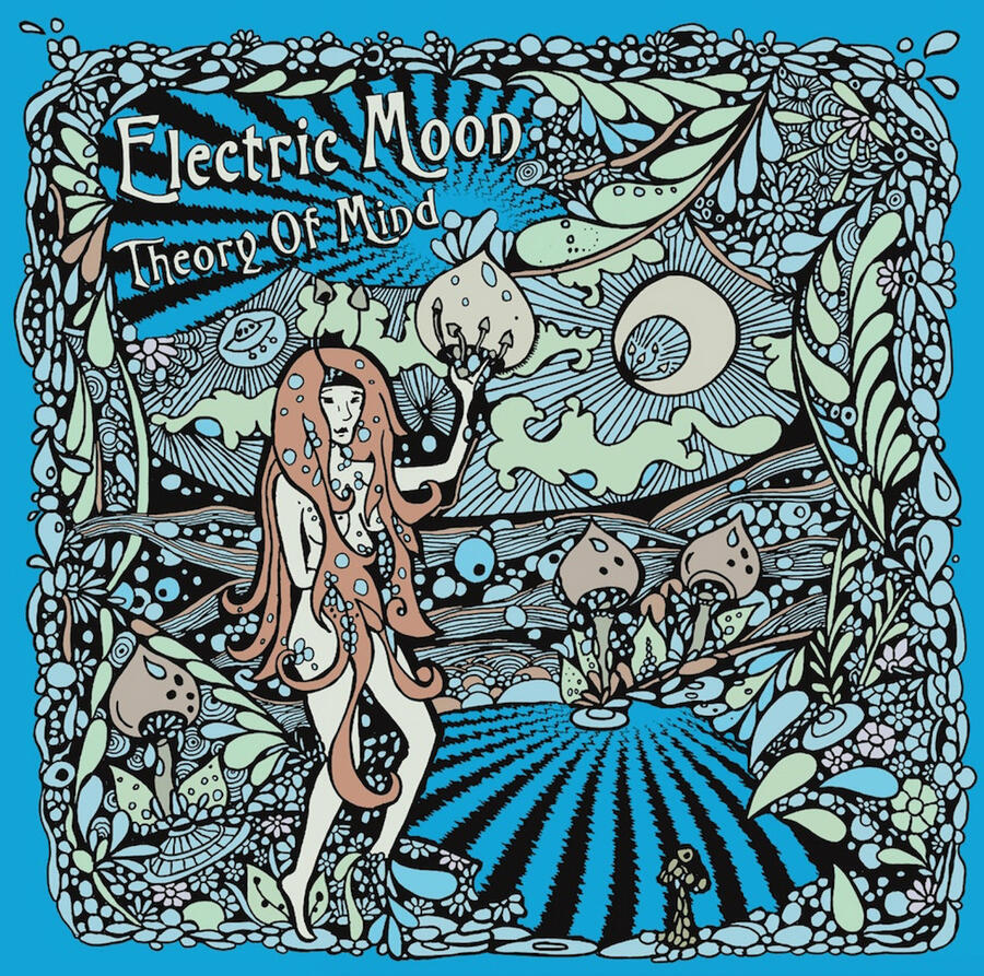 ELECTRIC MOON   - THEORY OF MIND - 2LP