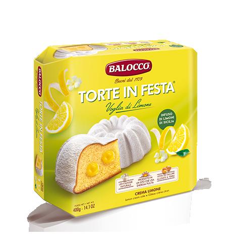 Torta in Festa Limone 400 gr