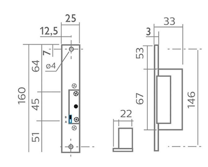 Gettoniera multimoneta Apriporta con Elettroserratura (per esterni)