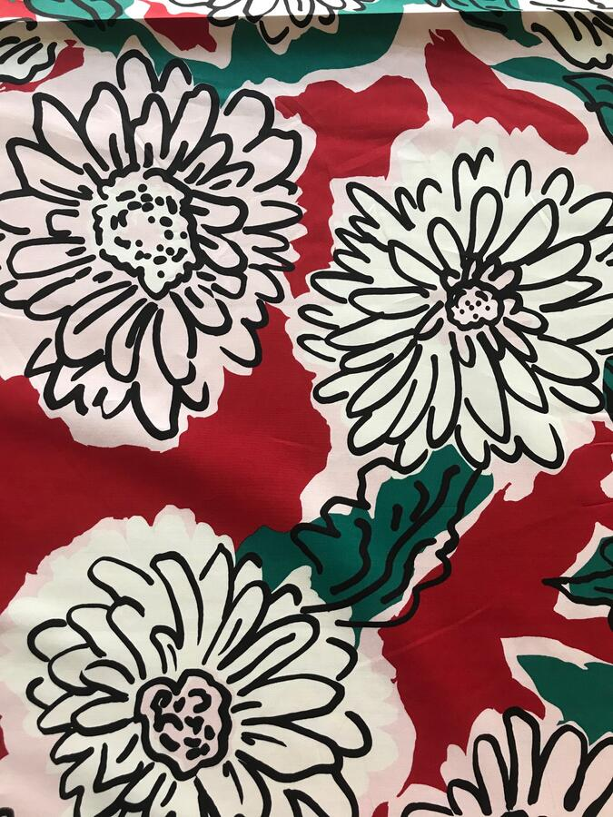 Gabardine di cotone - fiori