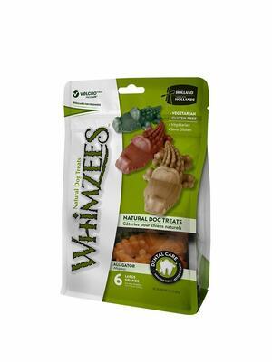 Whizmess L Snack Per Cani Pulizia Denti Vegetali Grain Free Senza Glutine Coccodrillo