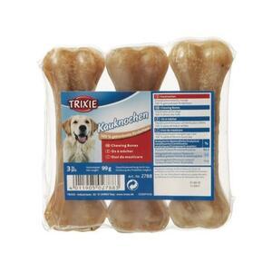 Trixie 3 Ossi Da 11cm Snack Per Cani Piccola Taglia Cuccioli Osso Masticabile Pelle Bovina