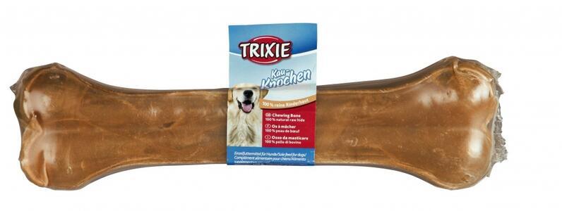 Trixie Osso da 17cm Snack Per Cani in Pelle Bovina Masticabile