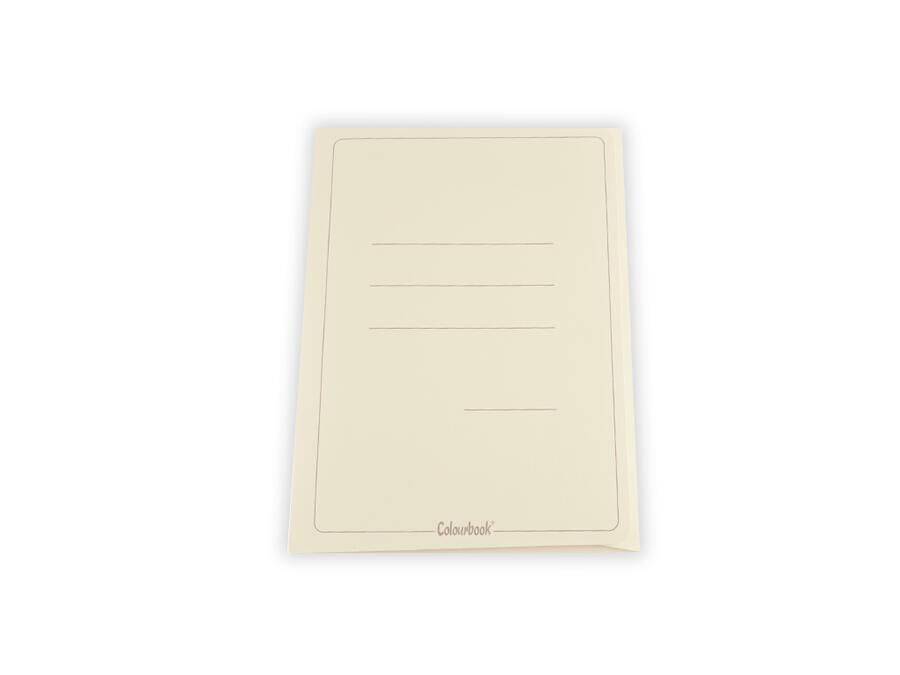CARTELLA 3 LEMBI 50 PEZZI GIALLO COLOURBOOK
