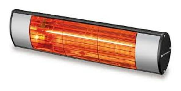 Kemper soleado stufa ad infrarossi ip55 1,5kw 65437 kw15