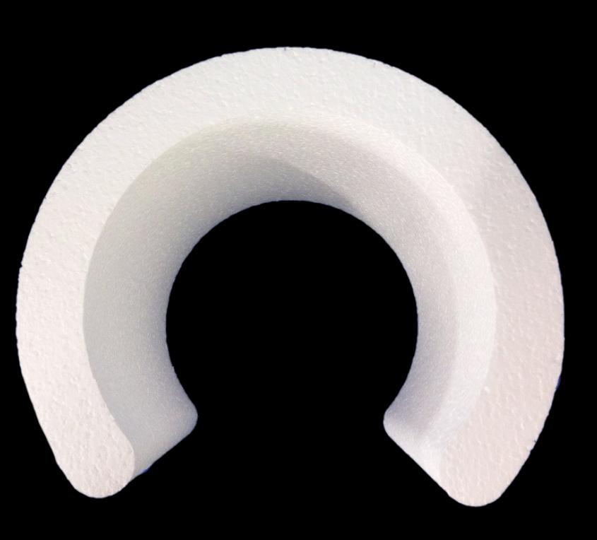 Base Polistirolo Forma Speciale Curva C