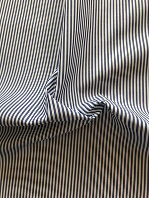 Taglio per camicia - righe blu