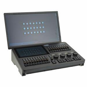 SHOWTEC LAMPY 20 1U Console DMX da 20 fader e 1 Universo