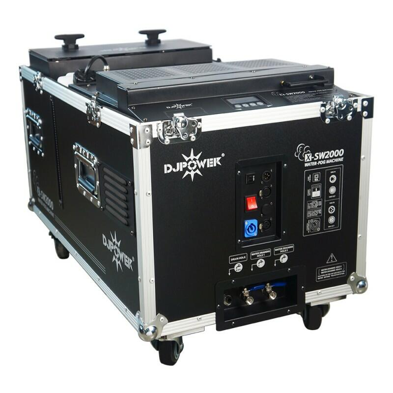 DJ Power - X-SW2000 - Macchina a bassa nebbia