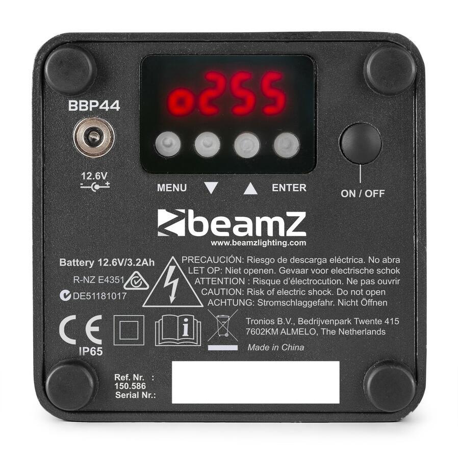 BeamZ - MINI BATTERIA BBP44 UPLIGHT IP65