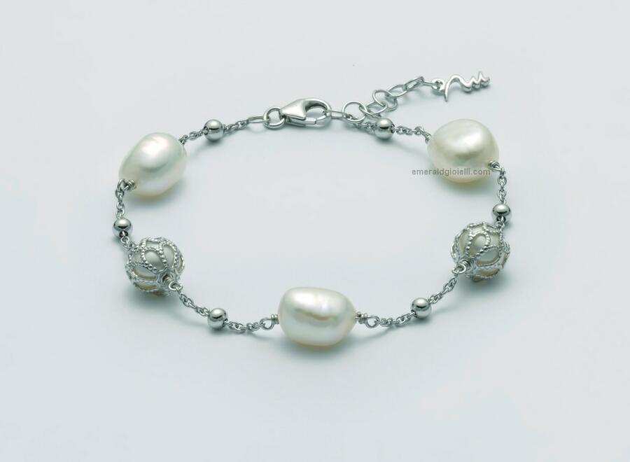PBR3079 Bracciale di perle miluna