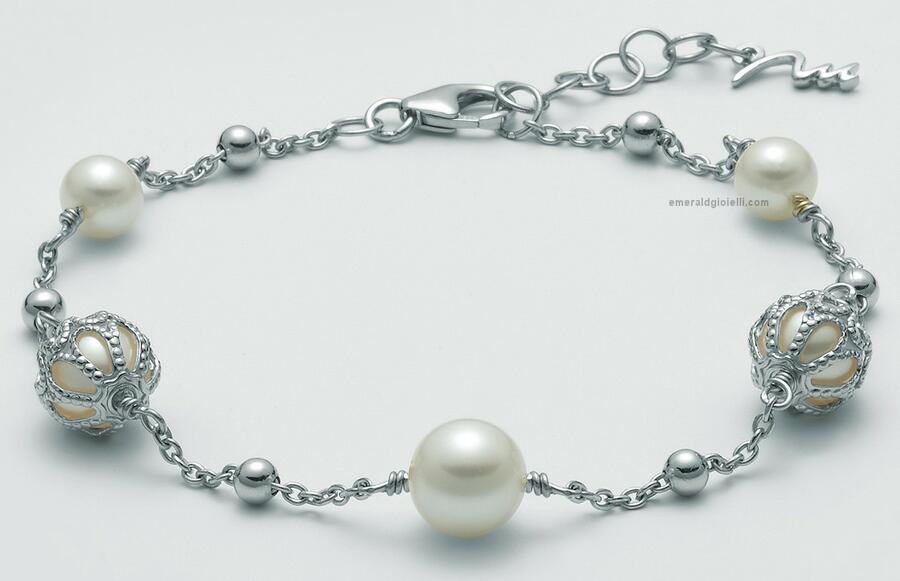 PBR3055 Bracciale di perle miluna
