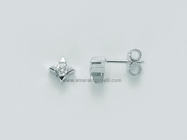 ERD1590-005g7 Orecchini con Diamante Miluna