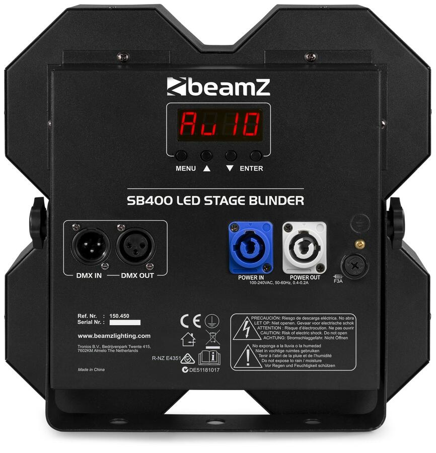 BeamZ -  SB400 STAGE BLINDER 4X 50W LED
