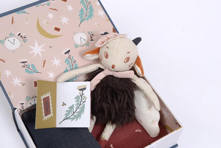 Après la Pluie - Libro della buonanotte con pecora e corredo lettino