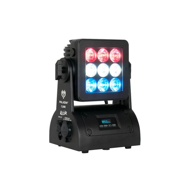 Elation PALADIN CUBE - 9x15W RGBW Flood Light 135W