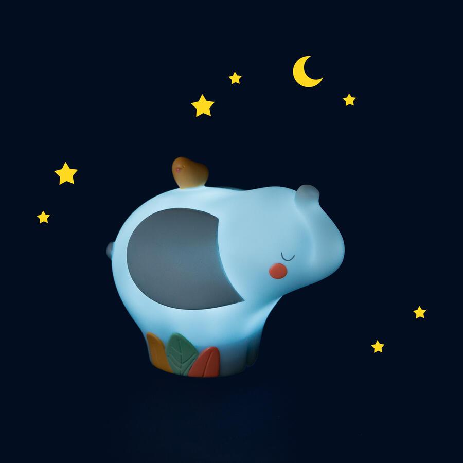 Sous mon Baobab - Luce notturna Usb Elefante