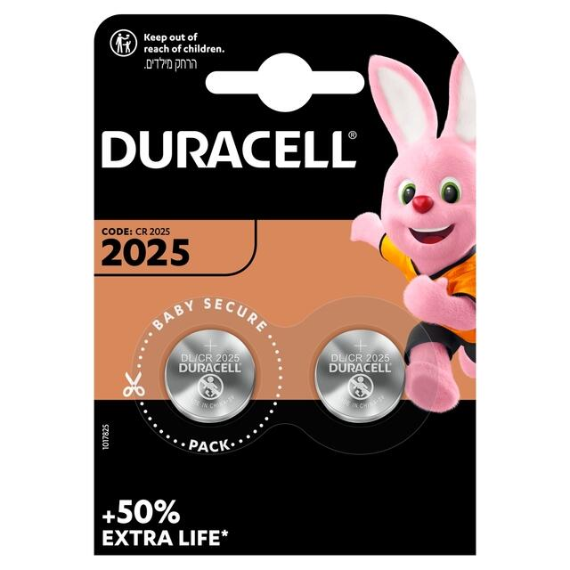 DURACELL CR 2025 PZ 10X2