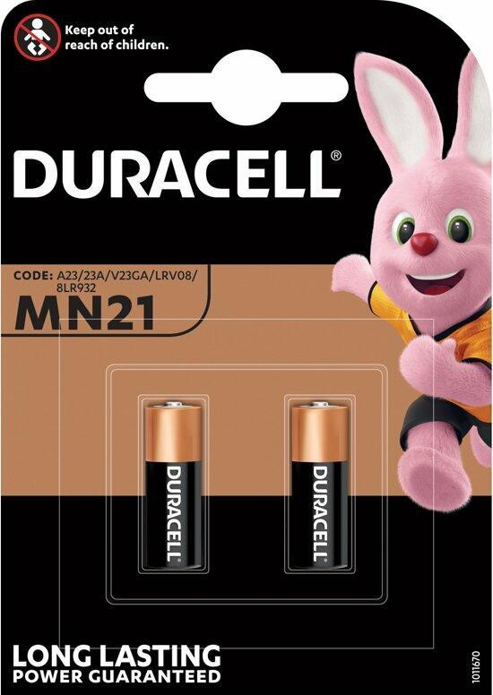DURACELL MN 21 12 VOLTS PZ 10X2