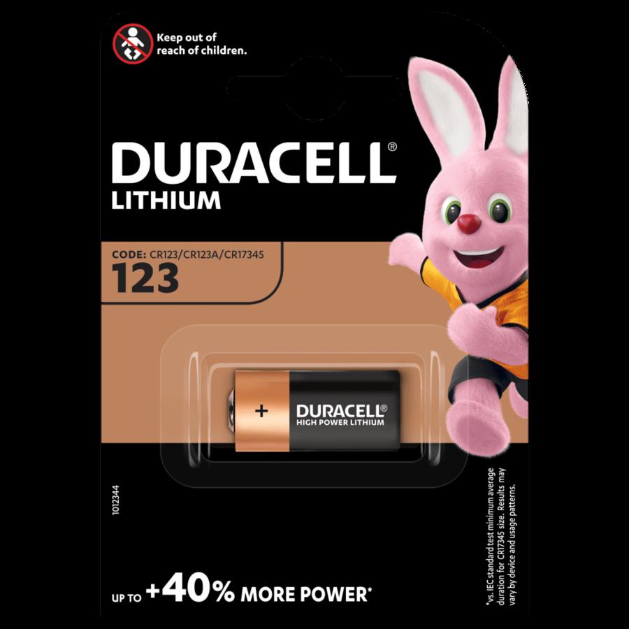 DURACELL CR 123A PZ 10X1