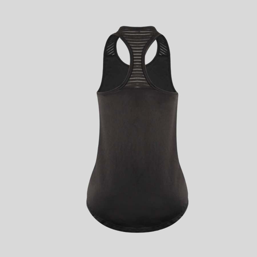 Workout Undershirt - (Black/White)