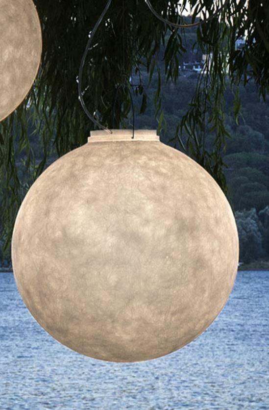 Lampada per Esterni a Sospensione LUNA 1 Collezione Out di In-es.artdesign, Varie Finiture - Offerta di Mondo Luce 24