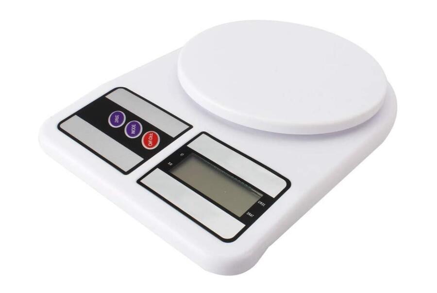 Bilancia Da Cucina Digitale Led Elettronica Fino a 10 Kg massima precisione pesa alimenti
