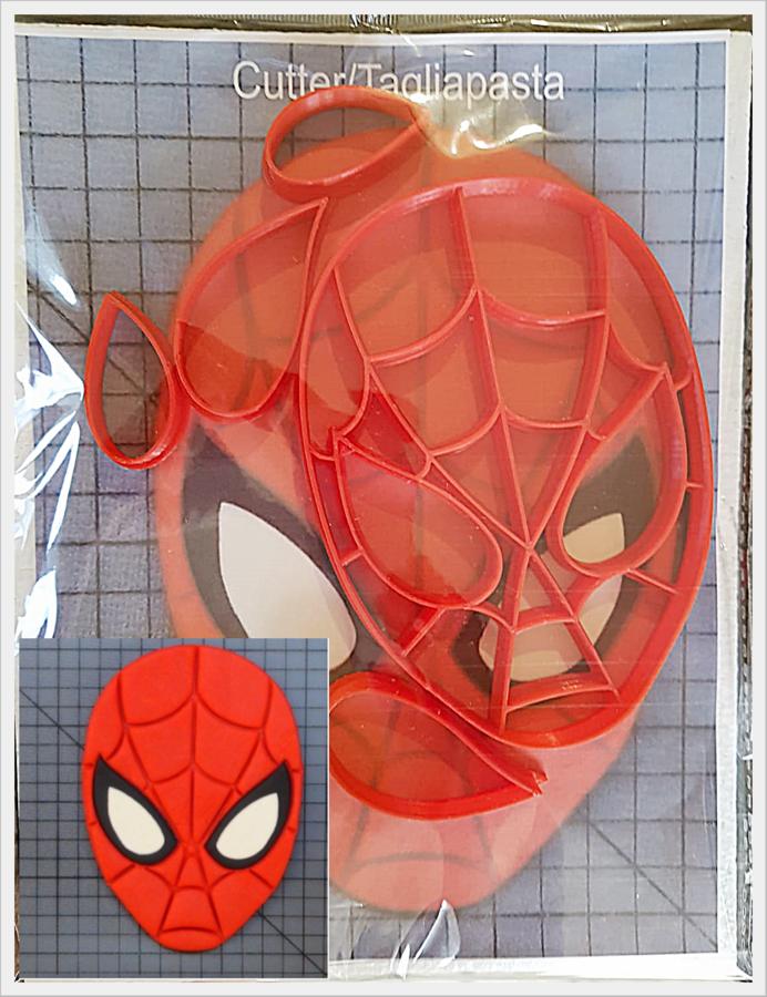 Tagliapasta Cutter taglierine Spiderman