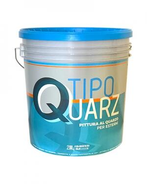 TipoQuarz rivestimento plastico lavabile al quarzo