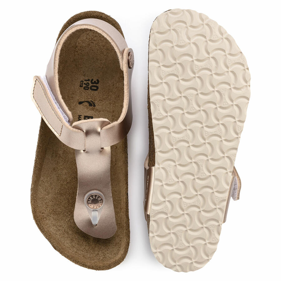 Birkenstock  - Kairo HL - Electric Metallic Copper