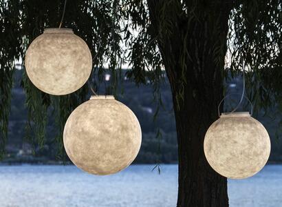 Lampada per Esterni a Sospensione LUNA 3 Collezione Out di In-es.artdesign, Varie Finiture - Offerta di Mondo Luce 24