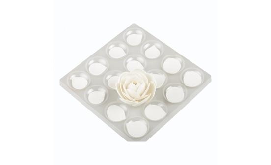 Kit 4 asciuga-petali forma fiori cm 4 e cm 5,5 Decora