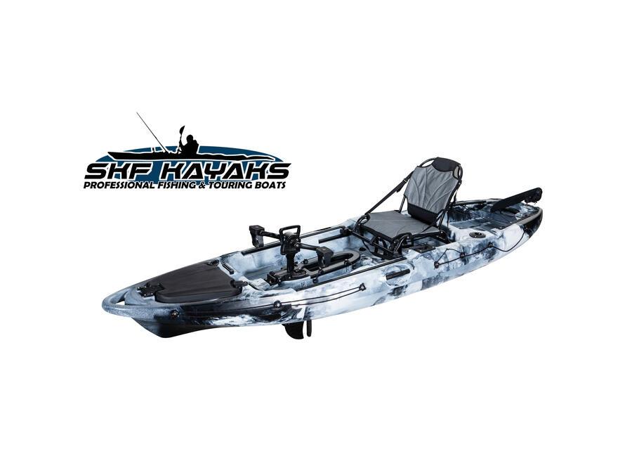 SKF Pedal Power 10 - Kayak da pesca a pedali - 320 cm - completo accessori