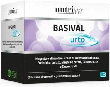 NUTRIVA BASIVAL URTO ► OFFERTA BIPACK◄ 30 + 30 BUSTINE