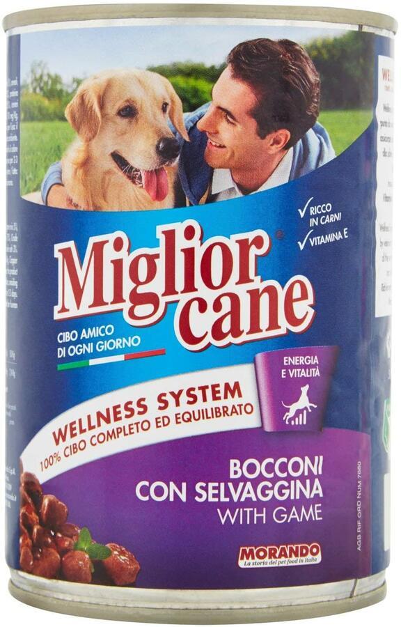 Miglior Cane Bocconi Selvaggina 405 Grammi