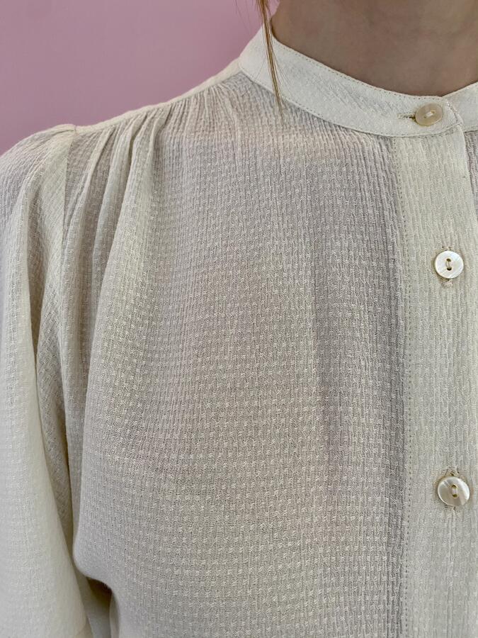 Camicia con manica corta