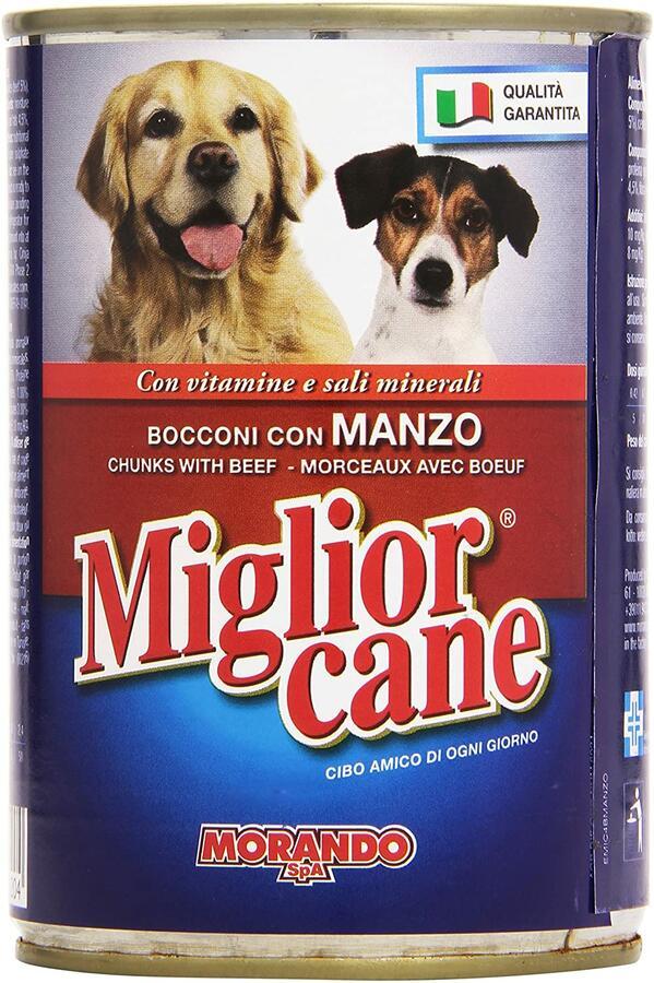 Miglior Cane Bocconi Manzo 405 g