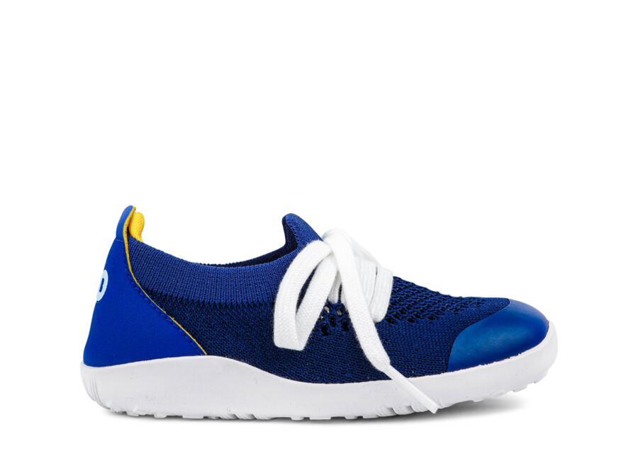 Bobux - I-Walk - Play Knit - Blueberry Yellow