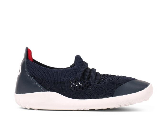 Bobux - I-Walk - Play Knit - Navy Red
