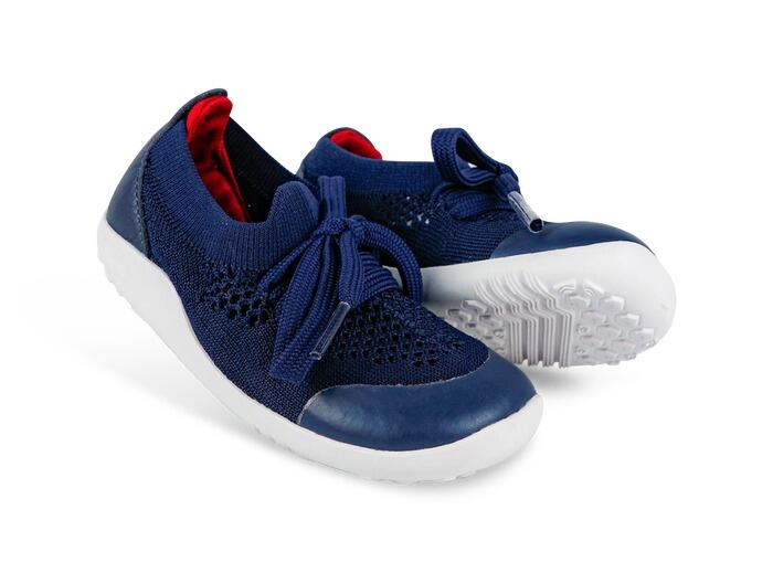 Bobux - I-Walk - Play Knit - Navy Red