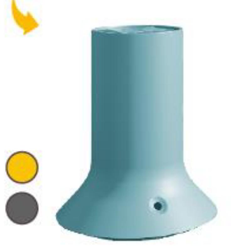 Pranarom - Soleo Diffusore a batteria azzurro