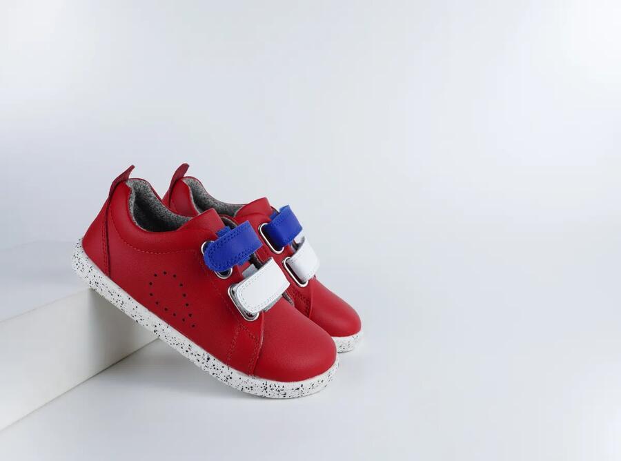 Bobux - I-Walk - Grass Court Switch  - Red