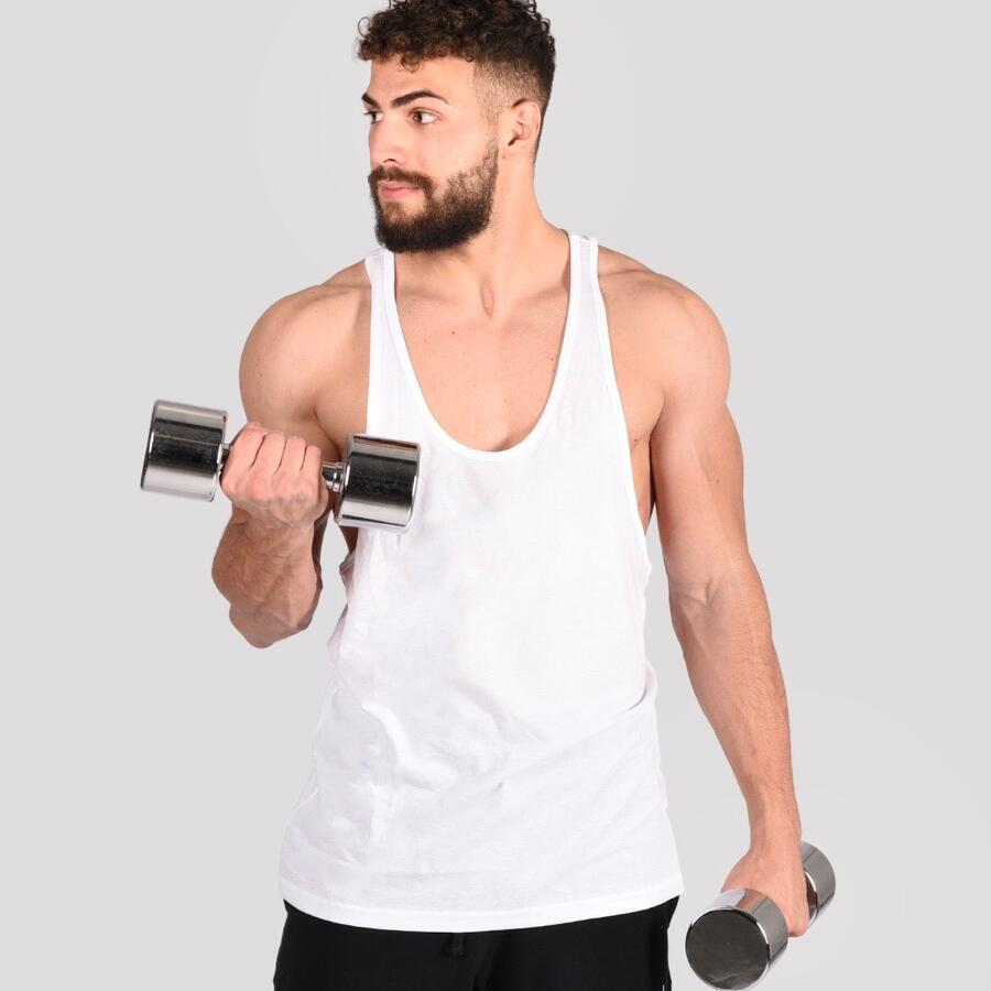 Mefit Tank Top (White/Black)