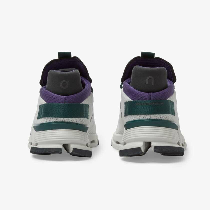 ON Running - Cloudnova W- White Violet