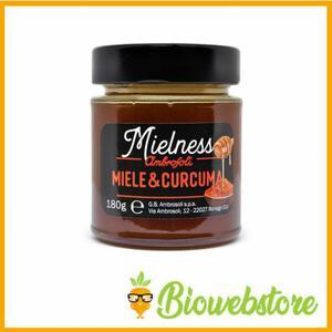 Ambrosoli mielness miele e curcuma gr.180