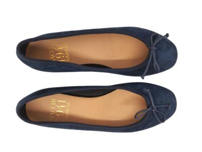 Macchi 1941 - Ballerina 1680z - Camoscio Blu