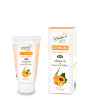 HUILERIE Crema Mani Albicocca & Ambra - Addolcente - Con ingredienti Biologici